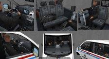 Luxembourg Police Van